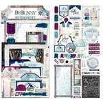 Bo Bunny - Altitude Collection - Christmas - Noteworthy Journaling Cards