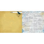 Bo Bunny - Rose Cafe Collection - 12 x 12 Double Sided Paper - Dot