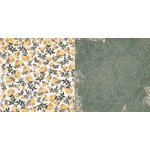Bo Bunny - Rose Cafe Collection - 12 x 12 Double Sided Paper - Garden