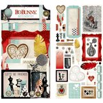 Bo Bunny - Star-Crossed Collection - Noteworthy Journaling Cards