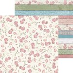 Bo Bunny - Garden Journal Collection - 12 x 12 Double Sided Paper - Bloom