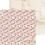Bo Bunny - Garden Journal Collection - 12 x 12 Double Sided Paper - Gratitude