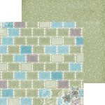 Bo Bunny - Garden Journal Collection - 12 x 12 Double Sided Paper - Pastel