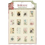 Bo Bunny - Garden Journal Collection - Stamp Stickers