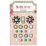 Bo Bunny - Garden Journal Collection - Brads
