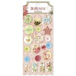Bo Bunny - Garden Journal Collection - Buttons