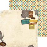 Bo Bunny - Safari Collection - 12 x 12 Double Sided Paper - Safari