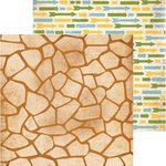Bo Bunny - Safari Collection - 12 x 12 Double Sided Paper - Spots