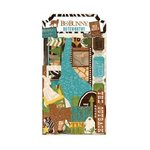 Bo Bunny - Safari Collection - Noteworthy Journaling Cards