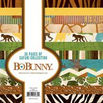 Bo Bunny - Safari Collection - 6 x 6 Paper Pad