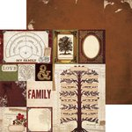 Bo Bunny - Heritage Collection - 12 x 12 Double Sided Paper - Roots