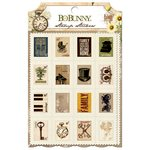 Bo Bunny - Heritage Collection - Stamp Stickers