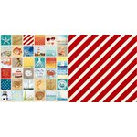 Bo Bunny - Boardwalk Collection - 12 x 12 Double Sided Paper - Boardwalk