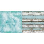 Bo Bunny - Boardwalk Collection - 12 x 12 Double Sided Paper - Drift
