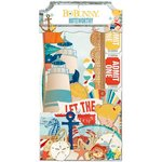 Bo Bunny - Boardwalk Collection - Noteworthy Journaling Cards