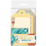 Bo Bunny - Boardwalk Collection - Tags