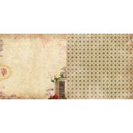 Bo Bunny - Juliet Collection - 12 x 12 Double Sided Paper - Verona