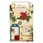 Bo Bunny - Juliet Collection - Layered Chipboard Stickers