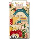Bo Bunny - Juliet Collection - Noteworthy Journaling Cards