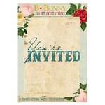 Bo Bunny - Juliet Collection - Invitations