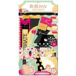 Bo Bunny - Youre Invited Collection - Noteworthy Journaling Cards