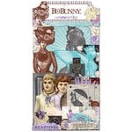 Bo Bunny - Penny Emporium Collection - Noteworthy Journaling Cards