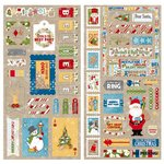 Bo Bunny - Dear Santa Collection - Christmas - Chipboard Stickers