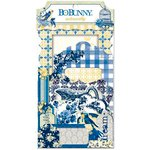 Bo Bunny - Genevieve Collection - Noteworthy Journaling Cards