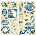 Bo Bunny - Genevieve Collection - Chipboard Stickers