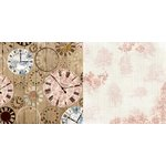 Bo Bunny - Provence Collection - 12 x 12 Double Sided Paper - Provence