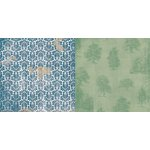 Bo Bunny - Provence Collection - 12 x 12 Double Sided Paper - Breathtaking