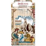 Bo Bunny - Provence Collection - Noteworthy Journaling Cards