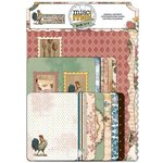 Bo Bunny - Provence Collection - Misc Me - Journal Contents