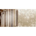Bo Bunny - Sleigh Ride Collection - Christmas - 12 x 12 Double Sided Paper - Rustic