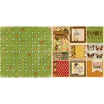 Bo Bunny - Enchanted Harvest Collection - 12 x 12 Double Sided Paper - Autumn