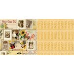 Bo Bunny - Enchanted Harvest Collection - 12 x 12 Double Sided Paper - Fall