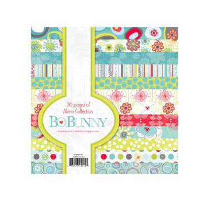 Bo Bunny Press - Alora Collection - 6 x 6 Paper Pad