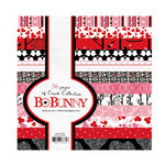 Bo Bunny Press - Crush Collection - Valentine - 6 x 6 Paper Pad