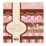 Bo Bunny Press - Crazy Love Collection - Valentine - 6 x 6 Paper Pad