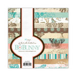 Bo Bunny Press - Gabrielle Collection - 6 x 6 Paper Pad