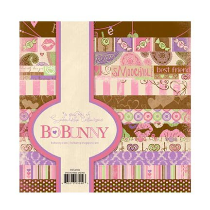 Bo Bunny Press - Smoochable Collection - 6 x 6 Paper Pad