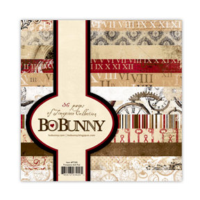 Bo Bunny Press - Timepiece Collection - 6 x 6 Paper Pad