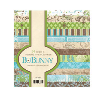 Bo Bunny Press - Welcome Home Collection - 6 x 6 Paper Pad