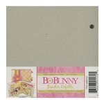 Bo Bunny - 6x6 Bare Naked Binder - with Six Pages