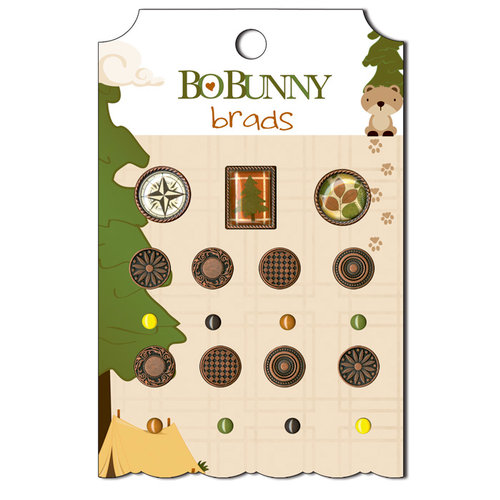 Bo Bunny - Camp-A-Lot Collection - Brads