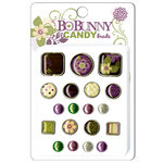 Bo Bunny Press - Jazmyne Collection - I Candy Brads - Jazmyne, CLEARANCE