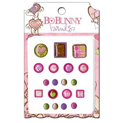 Bo Bunny - Smoochable Collection - Brads