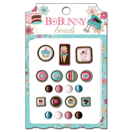 Bo Bunny - Sweet Tooth Collection - Brads