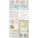Bo Bunny Press - Cardstock Stickers - Baby Mine