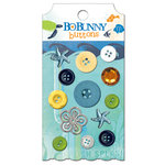 Bo Bunny Press - Barefoot and Bliss Collection - Buttons